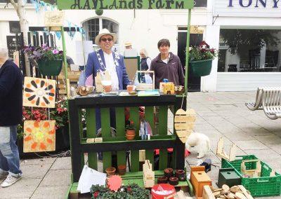 Michael Lilley Ryde Mayor Haylands Farm Ryde Historic Action Zone programme pedestrianisation