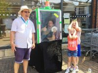 Michael Lilley Ryde Mayor and Magician in Coop Square Ryde Isle of Wight