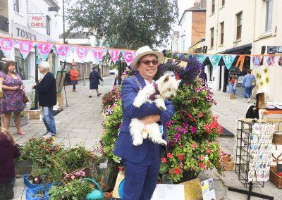 Michael Lilley Ryde Mayor Flower Market Ryde Historic Action Zone programme pedestrianisation