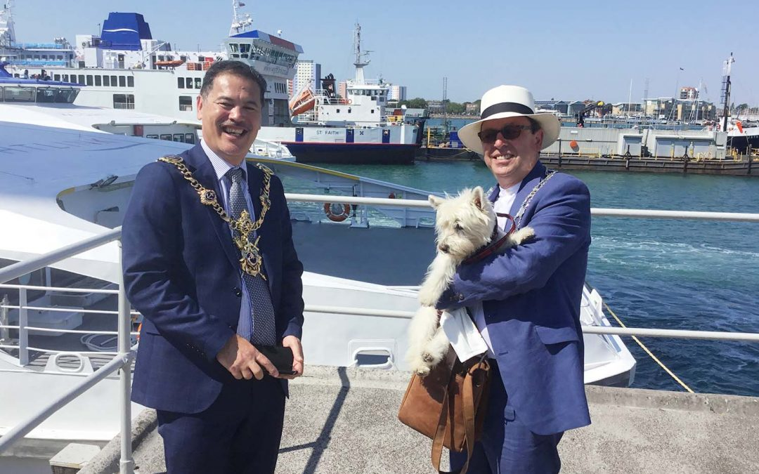 The FastCats are back as Wightlink gears up for summer