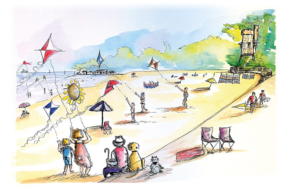 Deckchairs back on Ryde beaches this summer!