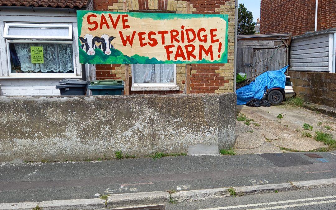 Save Westridge Farm Campaign Goes On!